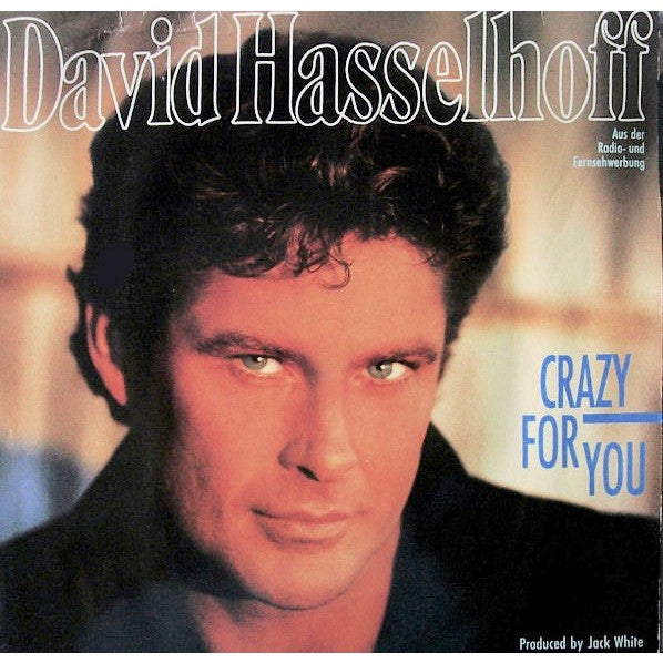 David Hasselhoff Crazy for you vinyl
