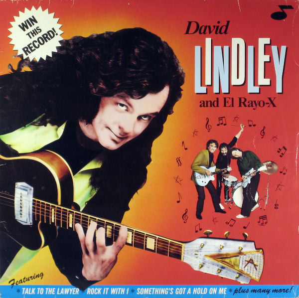 David Lindley And El Rayo-X ‎– Win This Record!