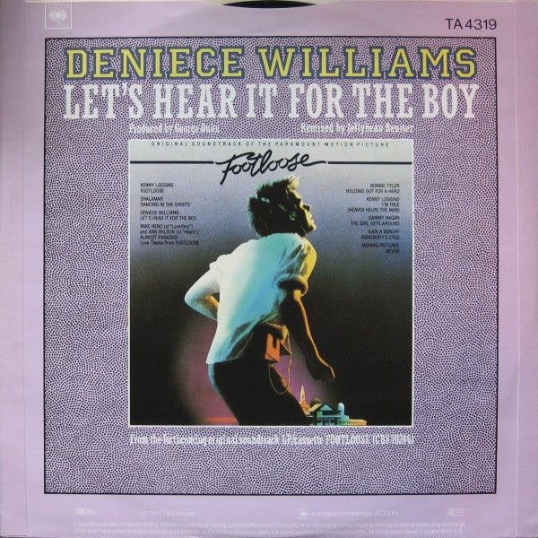 Deniece Williams ‎– Let's Hear It For The Boy