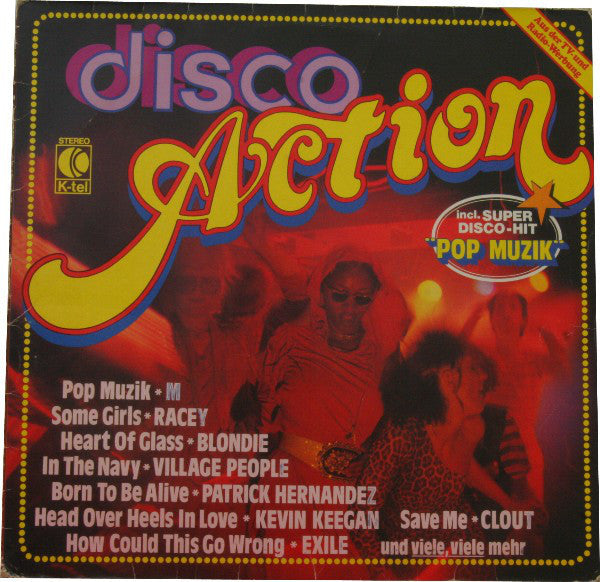 Various ‎– Disco Action