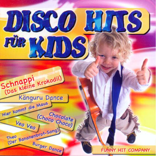 Funny Hit Company ‎– Disco Hits Für Kids