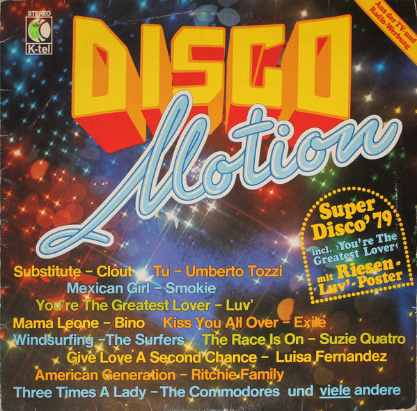 Various ‎– Disco Motion