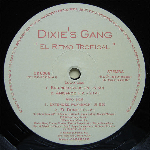 Dixie's Gang ‎– El Ritmo Tropical