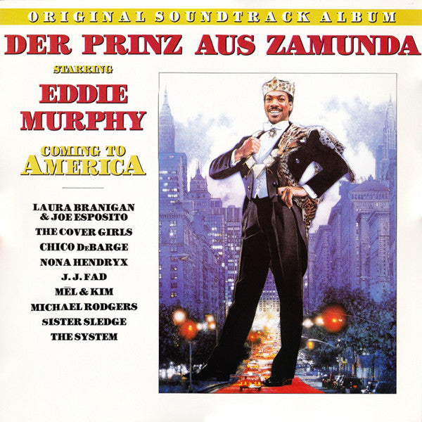Various ‎– Der Prinz Aus Zamunda: Original Soundtrack Album