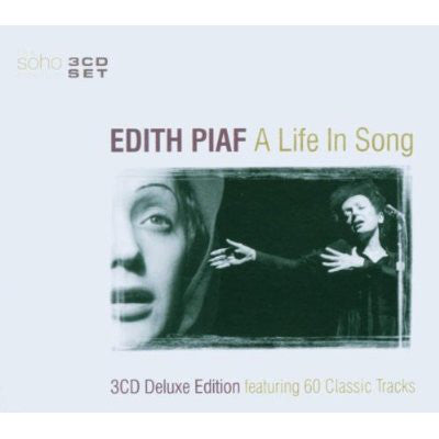 Edith Piaf ‎– A Life In A Song (3CD)