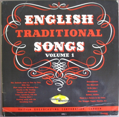 Stanley Riley, Brenda Cleather ‎– English Traditional Songs Volume 1
