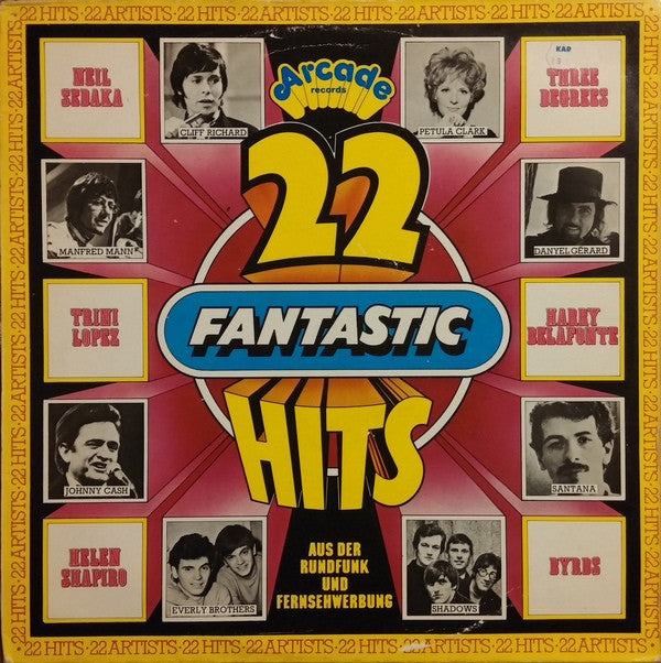 Various ‎– 22 Fantastic Hits