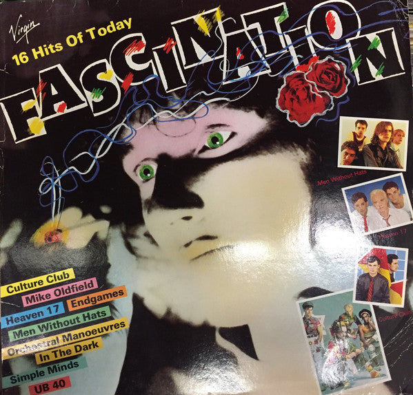 Various ‎– Fascination - 16 Hits Of Today