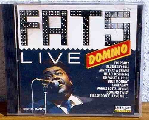 Fats Domino ‎– Masters Of Pop Music-Live