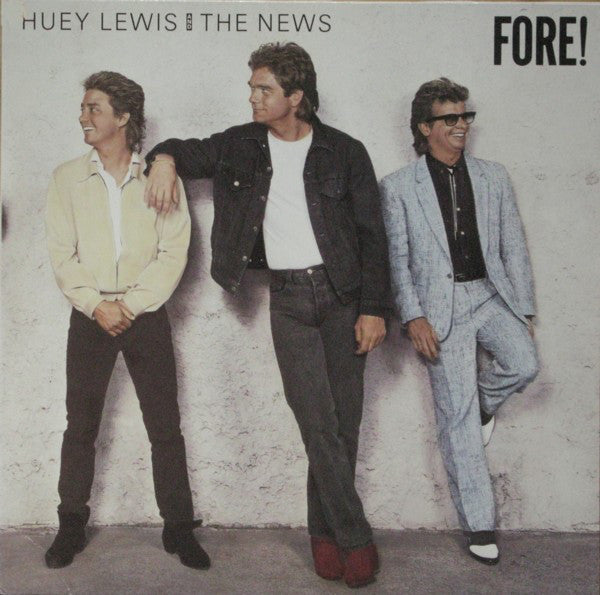Huey Lewis And The News* ‎– Fore!
