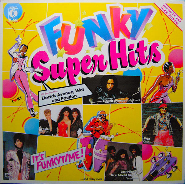 Various ‎– Funky Super Hits