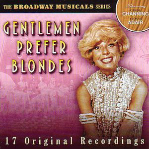 Carol Channing, Yvonne Adair, Jack McCauley, Eric Brotherson, George S. Irving ‎– Gentlemen Prefer Blondes (Original Broadway Cast)