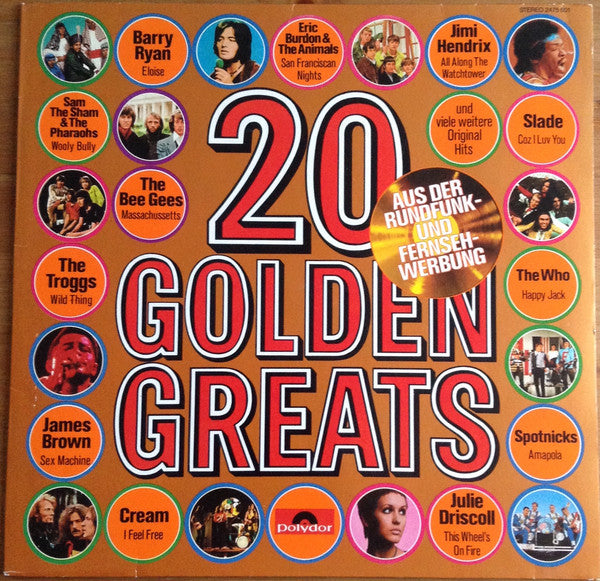 Various ‎– 20 Golden Greats