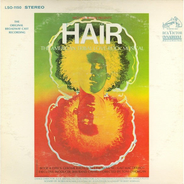 Hair The original brodway cast recording