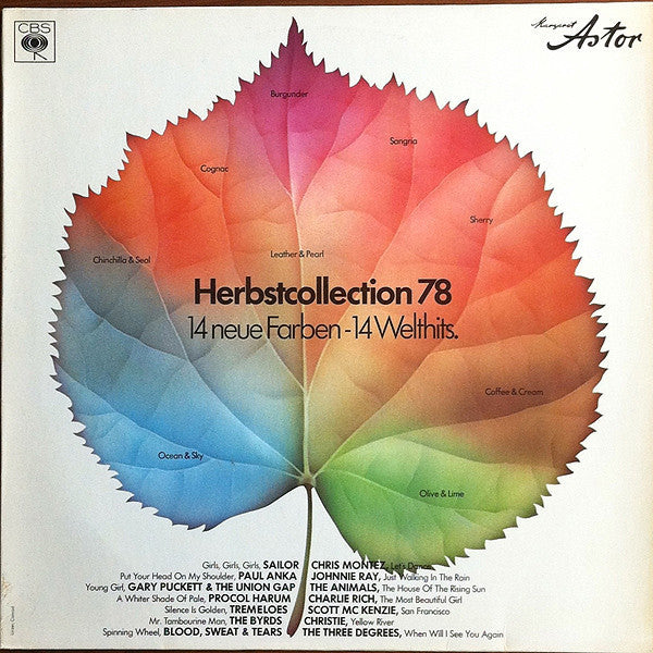 Various ‎– Margaret Astor Herbstcollection 78