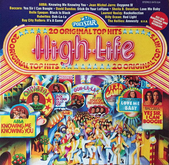 Various ‎– High Life - 20 Original Top Hits