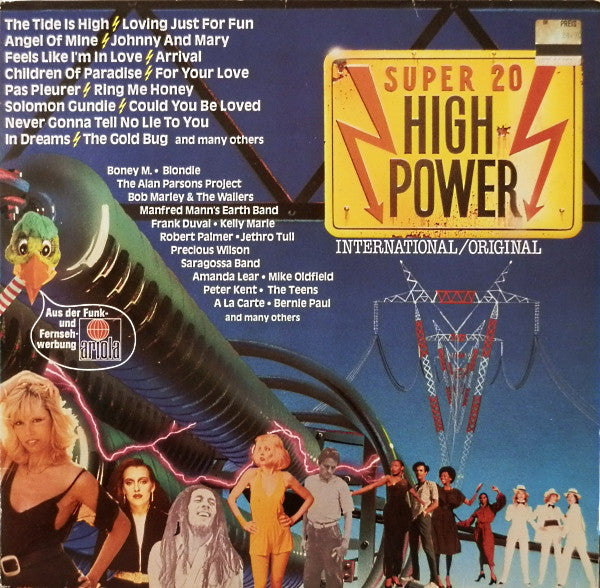 Various ‎– Super 20 High Power
