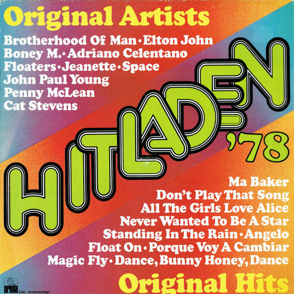 More Images  Various ‎– Hitladen '78