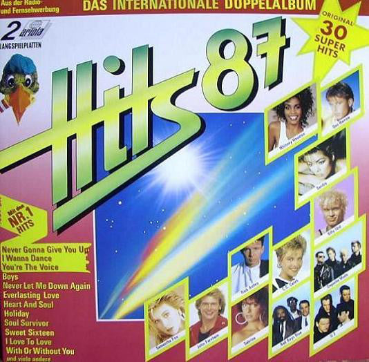 Various ‎– Hits '87 • Das Internationale Doppelalbum  ( 2 LP's )