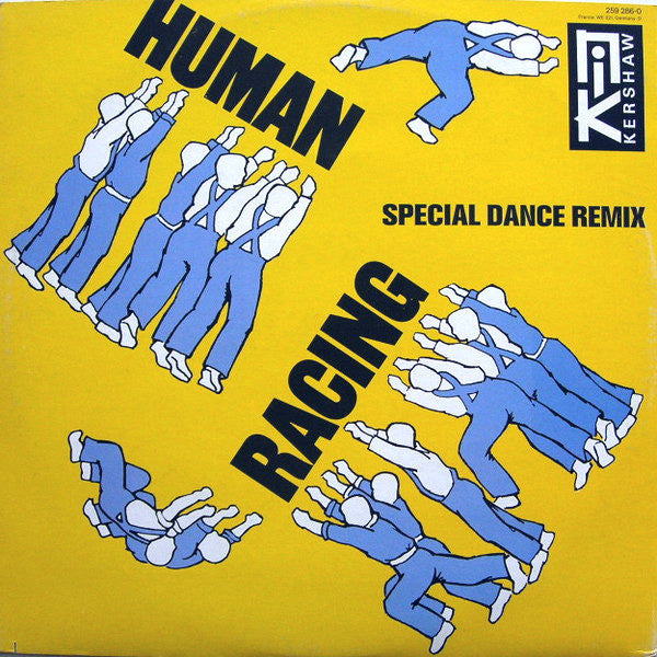 Nik Kershaw ‎– Human Racing (Special Dance Remix)