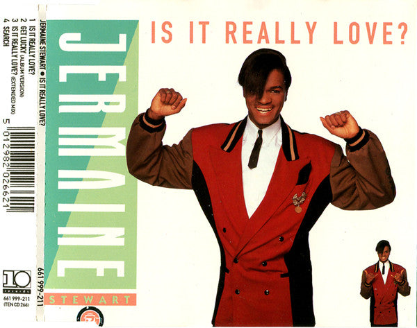 Jermaine Stewart ‎– Is It Really Love?