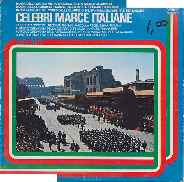 Various ‎– Celebri Marce Italiane