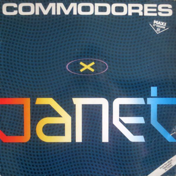 Commodores ‎– Janet