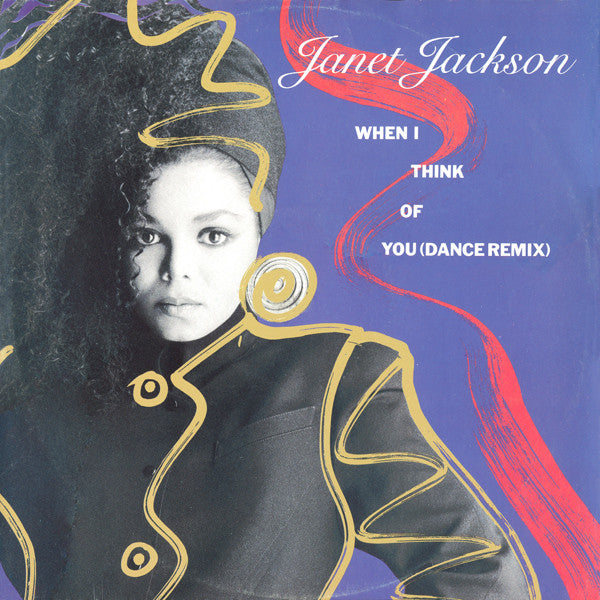 Janet Jackson ‎– When I Think Of You (Dance Remix)