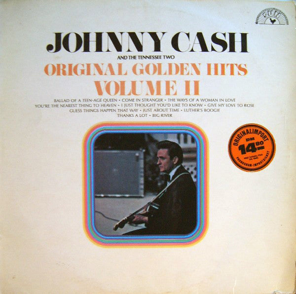 Johnny Cash And The Tennessee Two* ‎– Original Golden Hits Volume II