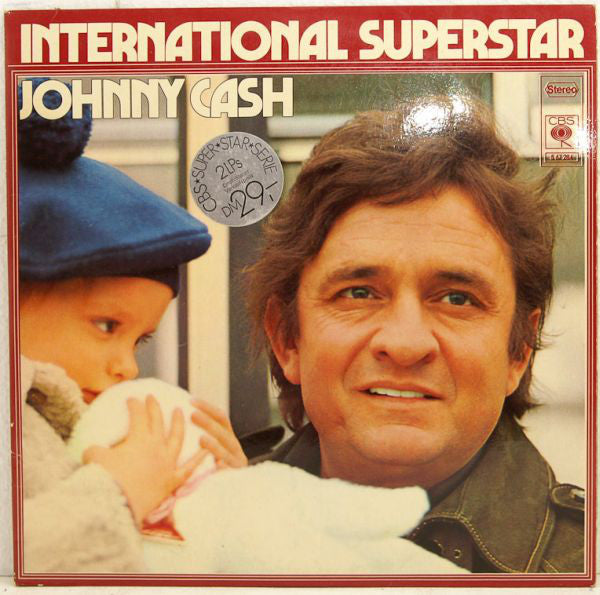 Johnny Cash ‎– International Superstar  2LP