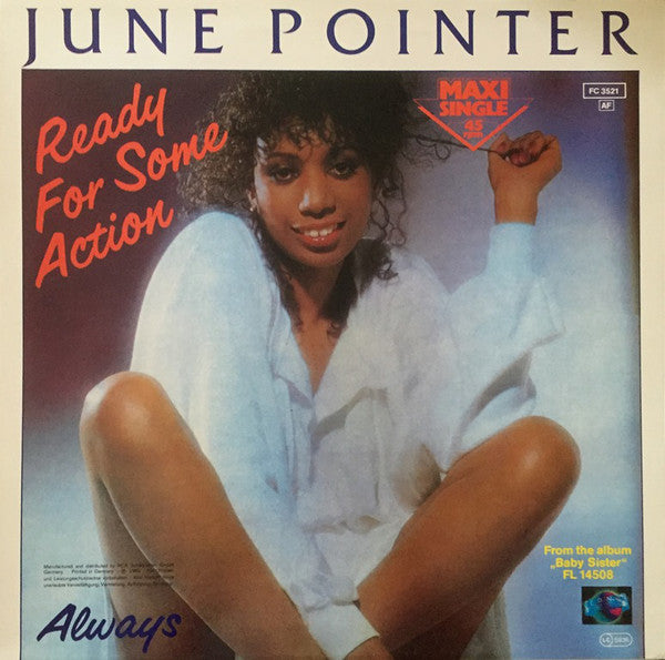 June Pointer ‎– Ready For Some Action