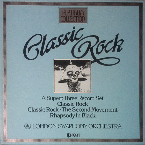 K-tel one 1153 Classic Rock 3LP london Symphonie Orchestra