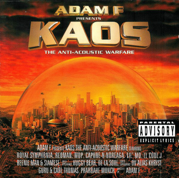 Adam F ‎– Kaos: The Anti-Acoustic Warfare