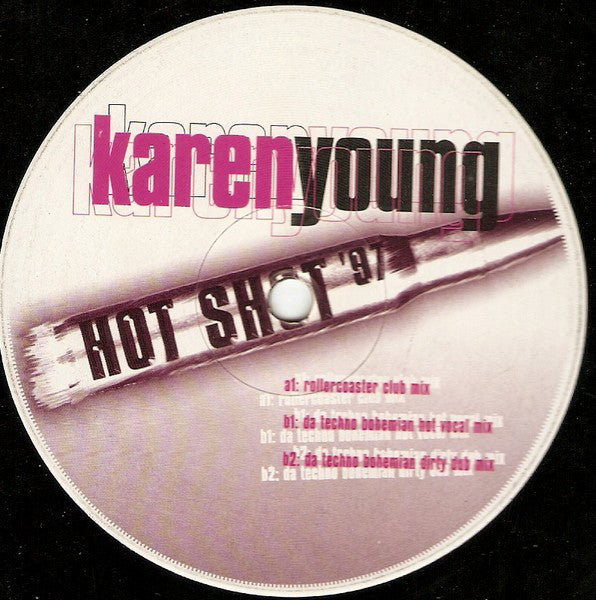 Karen Young ‎– Hot Shot '97