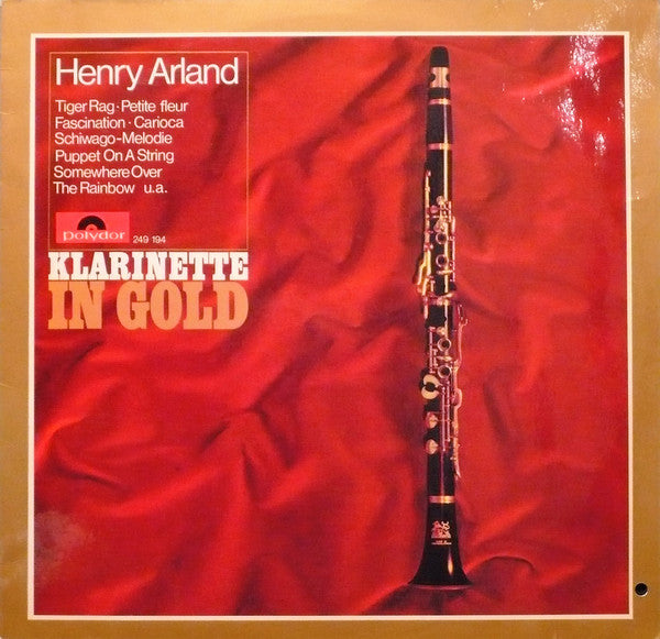 Henry Arland ‎– Klarinette In Gold
