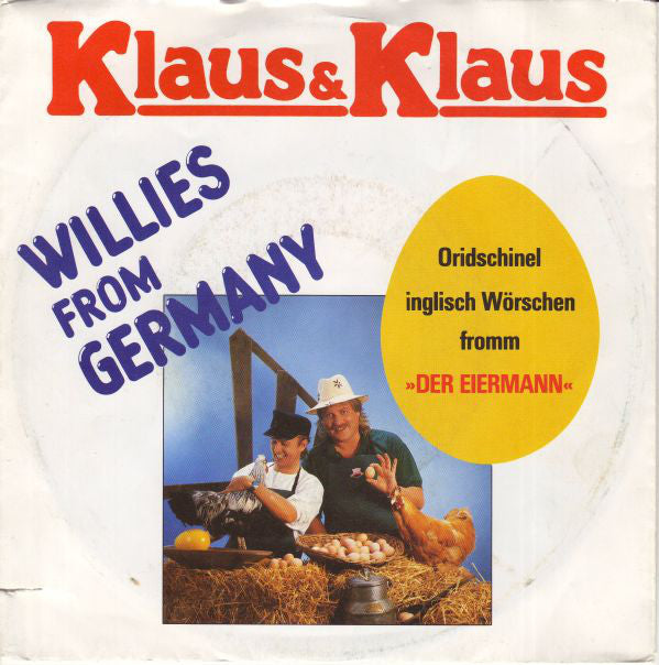 Klaus & Klaus ‎– Willies From Germany