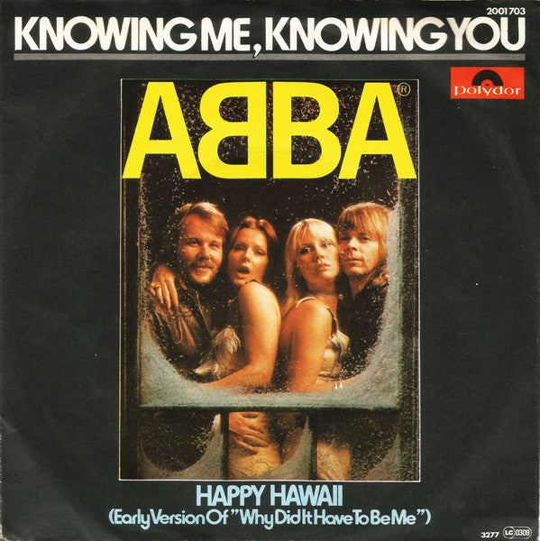 ABBA ‎– Knowing Me, Knowing You