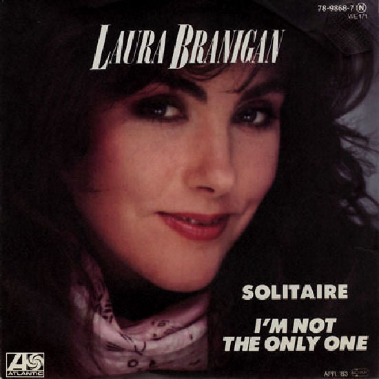 Laura Branigan ‎– Solitaire / I'm Not The Only One