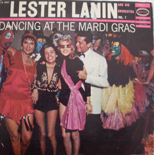 Lester Lanin And His Orchestra ‎– Dancing At The Mardi Gras