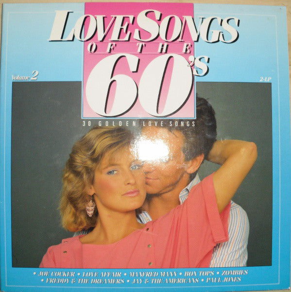 K-tel Love songs of the 60th 2LP