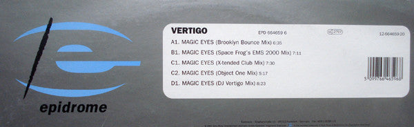 Vertigo (2) ‎– Magic Eyes