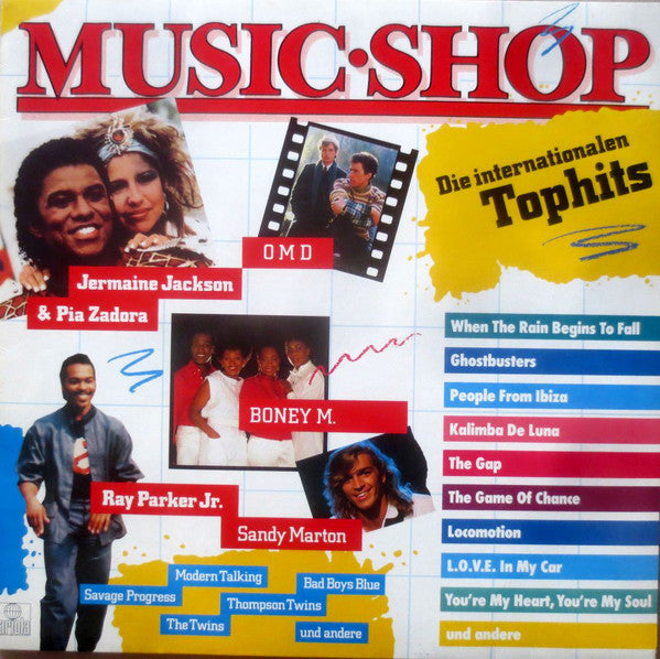 Various ‎– Music Shop - Die Internationalen Tophits