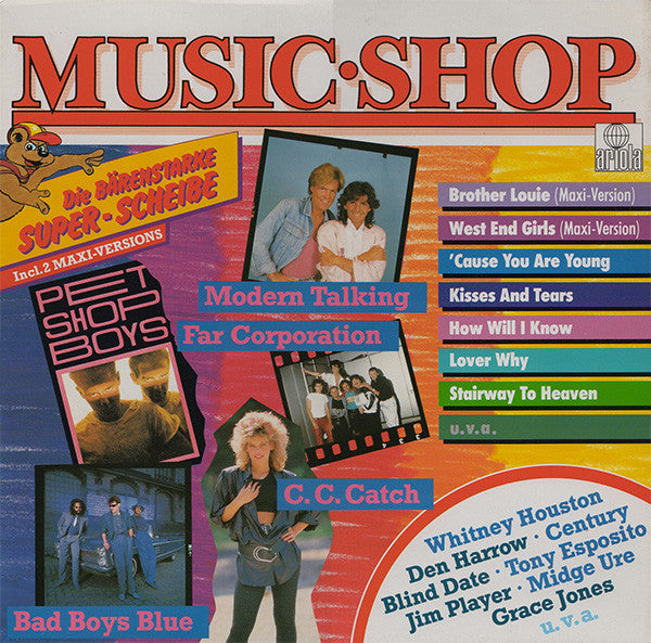 Various ‎– Music Shop