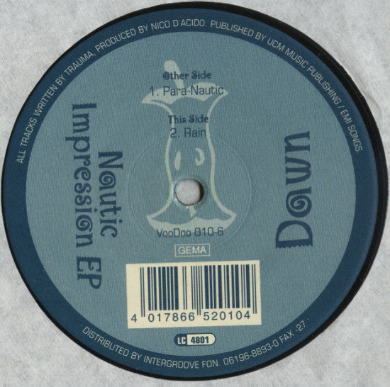 Dawn (17) ‎– Nautic Impression EP