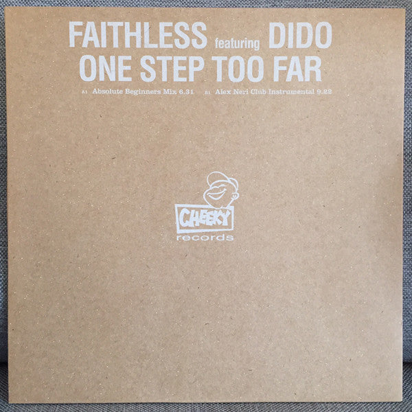 Faithless Featuring Dido ‎– One Step Too Far