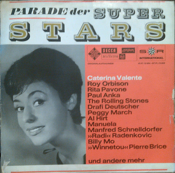 Various ‎– Parade Der Superstars