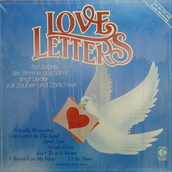 Pat Boone ‎– Love Letters