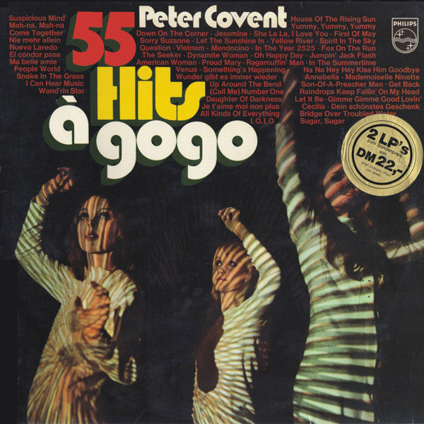 Peter Covent Band 55 hits a gogo