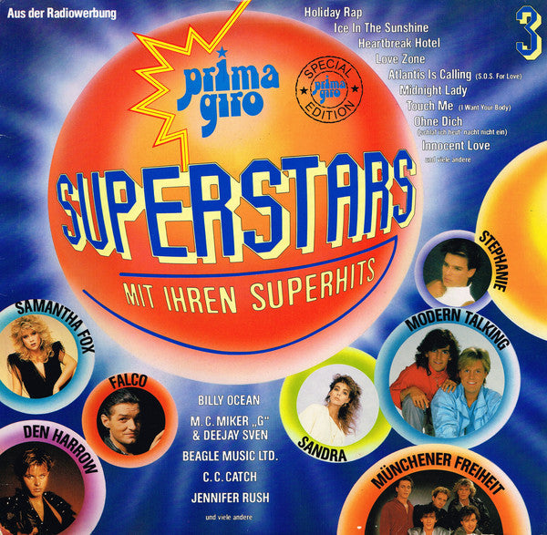 Various ‎– Prima Giro - Superstars Mit Ihren Superhits 3