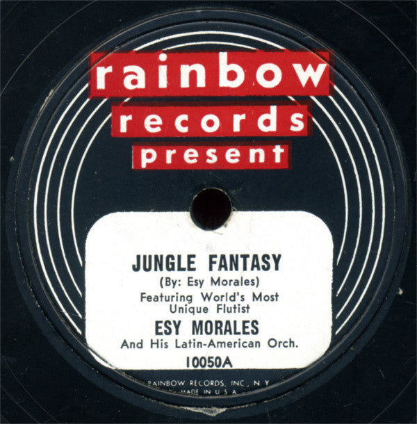 Esy Morales And His Latin-American Orch.* ‎– Jungle Fantasy / Easy Does It